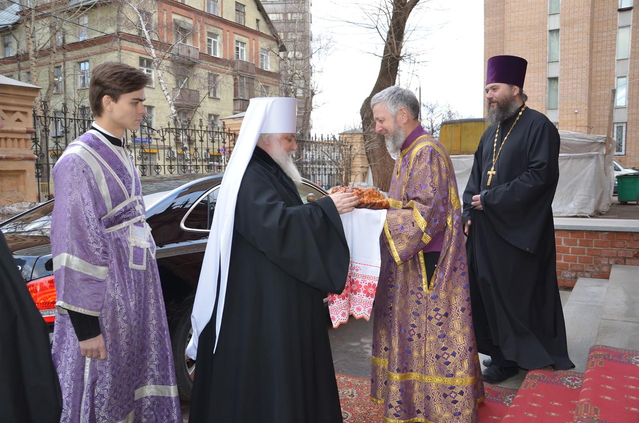 Престольный праздник — день празднования памяти преподобного Василия Исповедника.