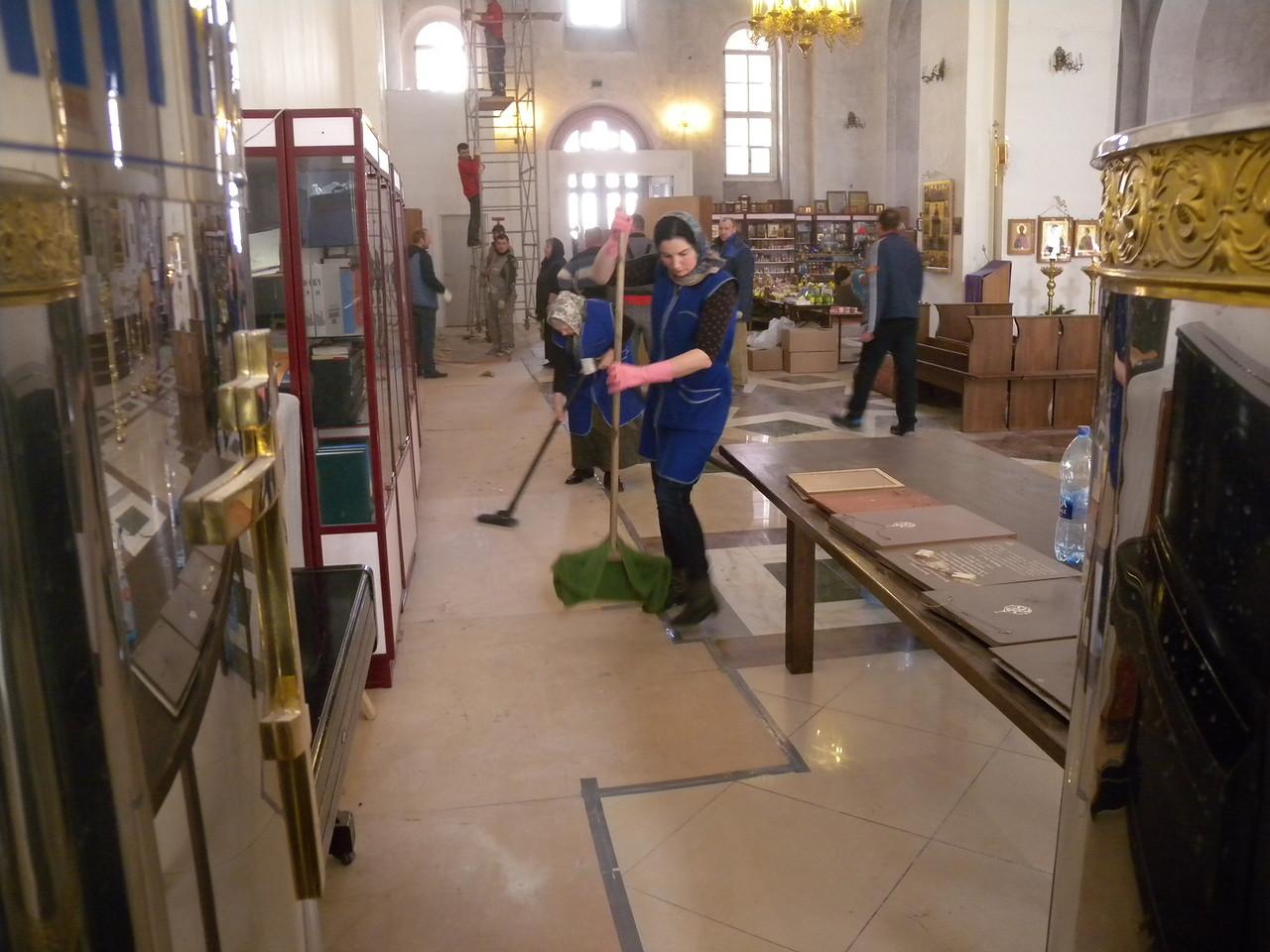 Подготовка к празднованию Святой Пасхи