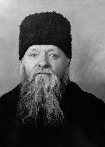 Протоиерей Адриан Ключарев перед высылкой в Казахстан
