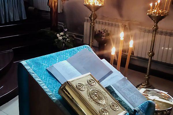 В нашем храме совершен молебен на начало учебного года!