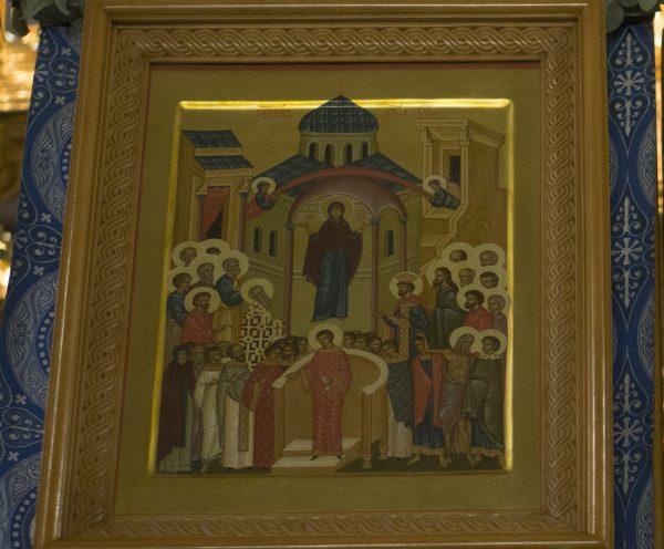 Божественная литургия в день праздника Покрова Пресвятой Богородицы