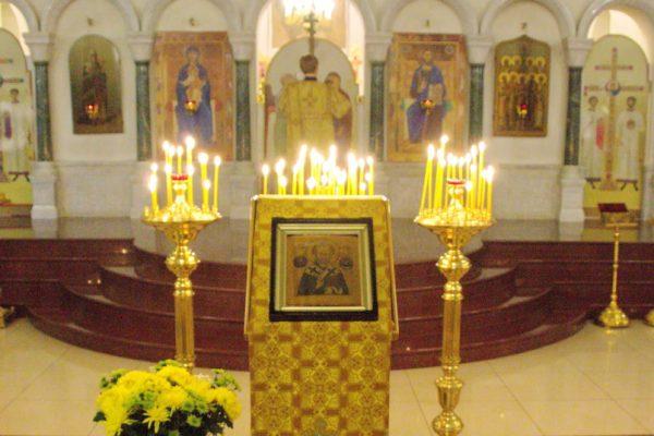 19 декабря 2018 года, в день памяти святителя Николая, архиепископа Мир Ликийских, чудотворца