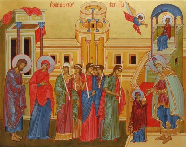 Русская Православная Церковь отмечает Введение во храм Пресвятой Богородицы.