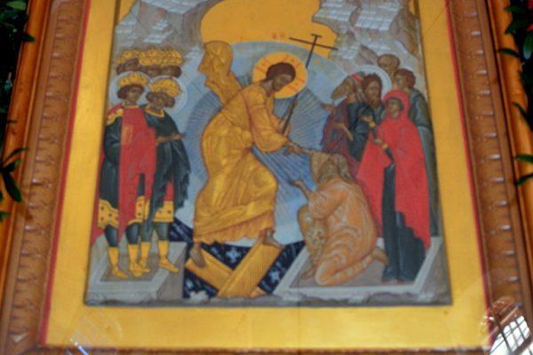 Пасхальные богослужения в храме преподобного Василия Исповедника у Рогожской заставы
