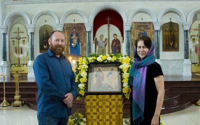 Семейный юбилей в нашем храме.