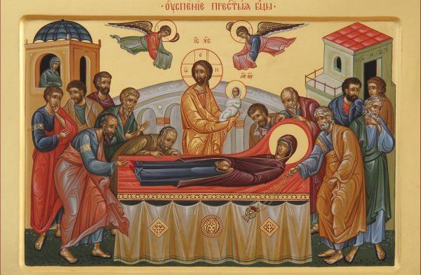 Божественная литургия в день Успения Пресвятой Богородицы