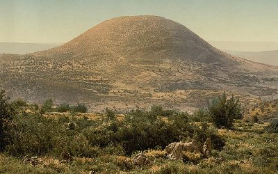Место Преображения Господня: гора Фавор