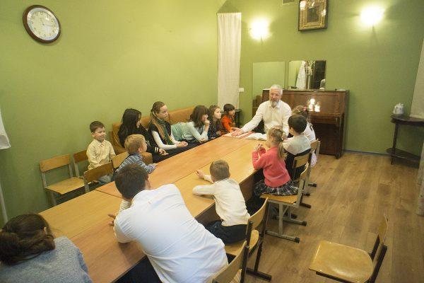 Занятия в нашей воскресной школе