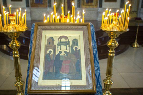 Праздник Сретения Господня в храме преподобного Василия Исповедника у Рогожской заставы