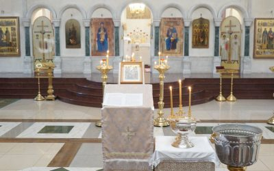 18 января 2021 года Навечерие Богоявления (Крещенский сочельник) в нашем храме