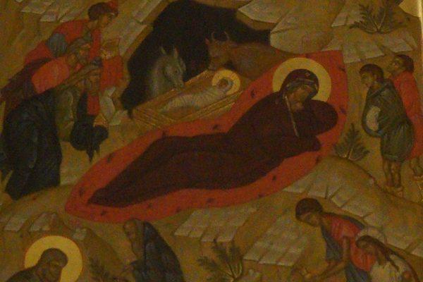 Рождество Христово в храме прп. Василия исповедника  у Рогожской заставы