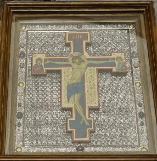 В праздник Воздвижения Креста Господня в нашем храме была совершена Литургия
