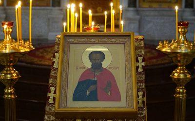Престольный праздник отметили в храме преподобного Василия Исповедника у Рогожской заставы.